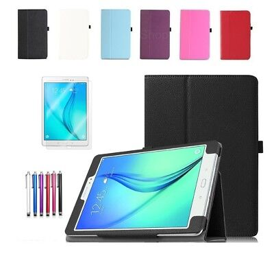 New Smart Leather Case Cover For Samsung Galaxy Tab A 7  & 9.7  Inch Tablet  • 6.49£