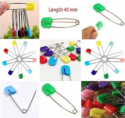 Baby Nappy Diaper Nappies Cloth Safety Pin Clip Craft Art Multiuse Mix Color New • 1.89£