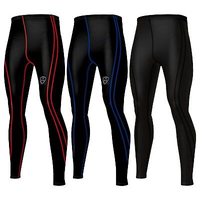Mens Compression Tights Base Layer Long Pants Legging Running Yoga Pants • 11.95£