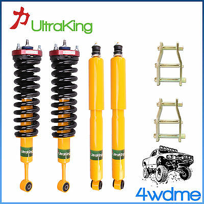 AU750 • Buy For Toyota Hilux KUN26 4WD HD Shocks Coil Springs 3  Front 2  Rear Lift Kit
