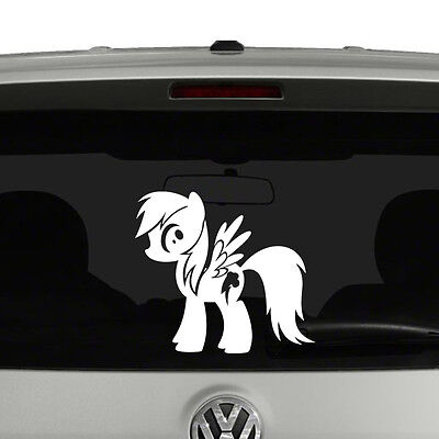 My Little Pony Rainbow Dash Vinyl Decal Sticker Car Window Brony • 4.09£