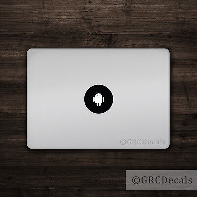 $4 • Buy Android - Mac Apple Logo Cover Laptop Vinyl Decal Sticker Macbook Droid Google