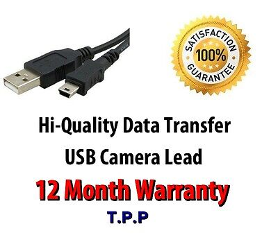 *NEW* Canon Powershot USB Camera Cable Lead Please Select Your Model In Advert • 4.75£