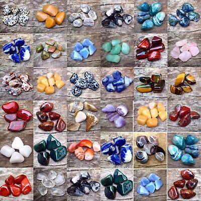 EXTRA LARGE XL Tumblestones 30 - 40mm £1.99 Healing Crystals Buy 4 Get 2 FREE • 2.99£