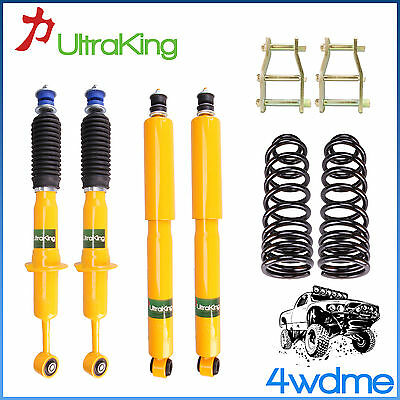 AU500 • Buy Fits Toyota Hilux KUN26 4WD Front & Rear Shocks Coil Springs 2  50mm HD Lift Kit