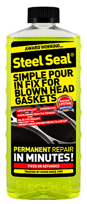 $89.99 • Buy Steel Seal Head Gasket Sealer 16 Oz For 4 Cylinder Cars - Free 2-3 Day Shipping!