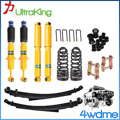 AU860 • Buy Fits Toyota Hilux KUN26 Front & Rear Shocks Coil Spring Leaf Spring 2  Lift Kit