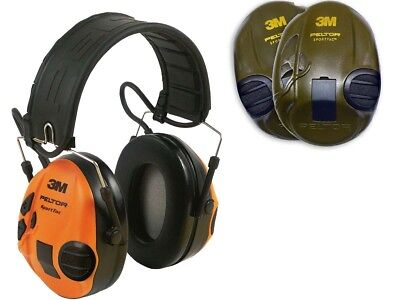 Peltor Ear Defenders SportTac Electronic Shooting Hearing Protection 3M • 128£