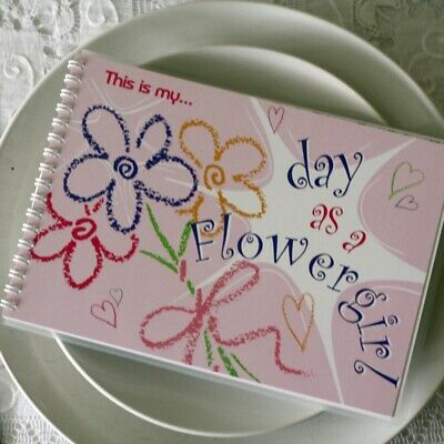 £10 • Buy 1 X This Is My Day As A Flowergirl Keepsake Book
