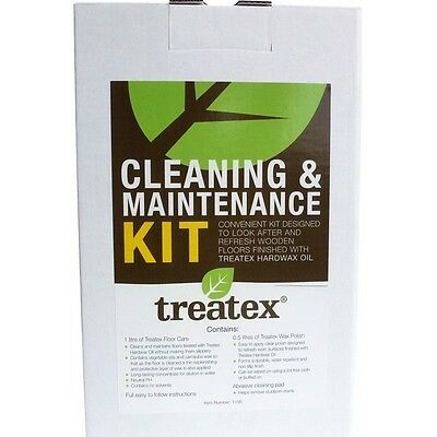 £26.34 • Buy Treatex Cleaning And Maintenance Kit, For Flooring /  Hardwax Oil