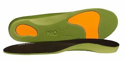 £5.95 • Buy Pro11 Wellbeing Worx Orthotic Insoles For Arch Support , Back Pain Work Boots