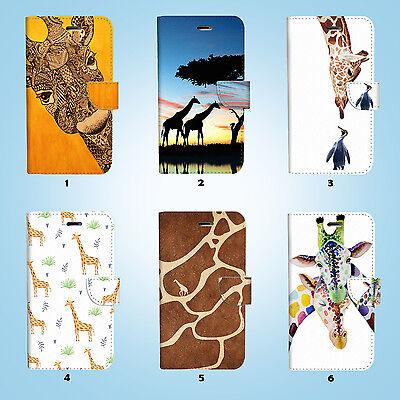 AU12.99 • Buy Cute Giraffe Wallet Case Cover For IPhone 11 Pro XS MAX XR X 8 7 6 6S Plus 056