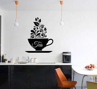 £10.10 • Buy Tea Cup - Design - Cafe - Shop Sign Signage Art Decal Sticker Picture Poster
