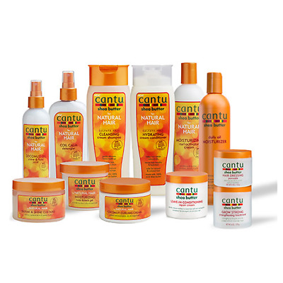 £7.29 • Buy CANTU SHEA BUTTER & NATURAL HAIR CARE AFRO Hair Product All Items