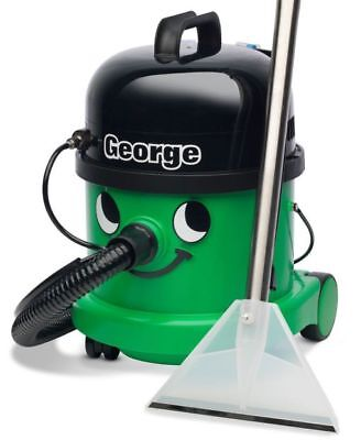 Numatic George GVE370-2 Vacuum Carpet Cleaner Hoover Wet & Dry Green A26A Kit UK • 263.40£