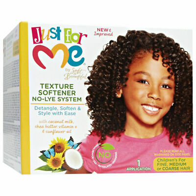 £9.98 • Buy Soft & Beautiful Just For Me Texture Softener Kit For Kids/afro Hair Care