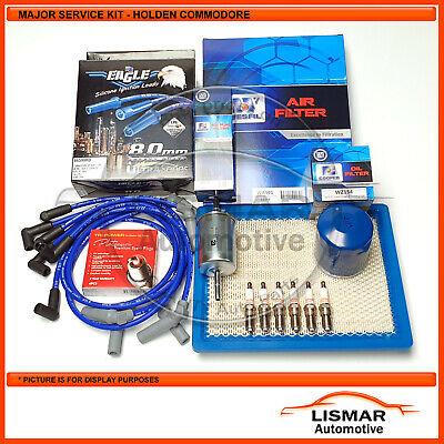 AU84.40 • Buy Major Service Kit For Holden Commodore V6 3.8Ltr VT, VX, VU, VY With Eagle Leads