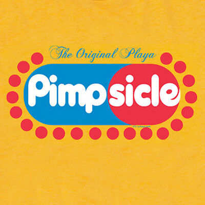 PIMPsicle Pimp Playa Retro Porn Star Funny Offensive Ymcmb Hustler T SHIRT  • 11.18£