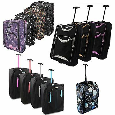£12.98 • Buy EZ Wheeled Luggage Hand Trolley Small Travel Bag  Ryanair Cabin Suitcase Holdall