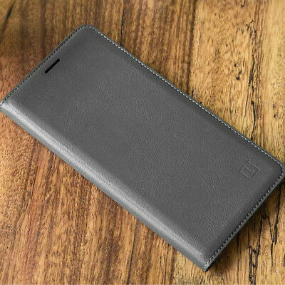 AU10.23 • Buy Official Flip Leather Smart Wallet Case Cover For OnePlus 3 /3T 5 5T 6 7 Pro 7T