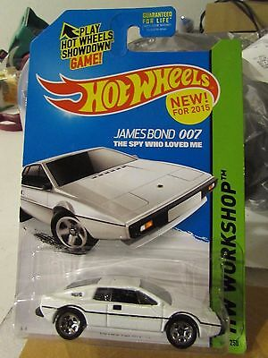$ CDN6.01 • Buy Hot Wheels Lotus Esprit S1 007 James Bond The Spy Who Loved Me White