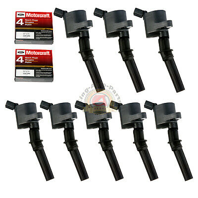 $69.15 • Buy Ignition Coils For Ford F150 Expedition Mustang With Motorcaft Spark Plug DG508