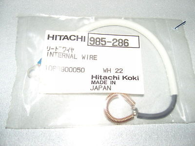 HITACHI 985-286 INTERNAL WIRE FOR WH22 Electric Impact Wrench • 4.95£