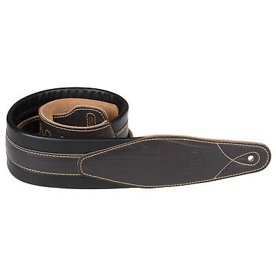 $ CDN30.92 • Buy Soft Padded Leather / Acoustic Electric Guitar Strap