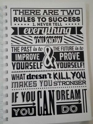 AU14.95 • Buy 2022  Year Diary 'Rules To Success'  A5