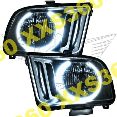 $574.88 • Buy ORACLE 2x Halo HEADLIGHTS For Ford Mustang 05-09 WHITE LED Angel Eyes