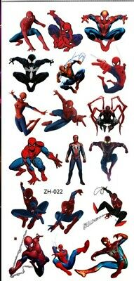 £1.99 • Buy KIDS Temporary Tattoo SPIDER MAN Great For Party Bags Size 9cm X 19cm