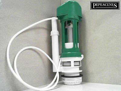 TD Green Toilet Flush Valve Pneumatic Air Push Toilet Syphon Single Flush • 32.40£