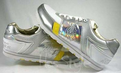 Christian Audigier Michael Jackson Limited Edition Shoes White Silver Rainbow • 113.32£