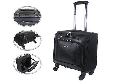 Wheeled Laptop Briefcase Business Office Bag Trolley Case Travel Cabin Bag 814 • 49.95£