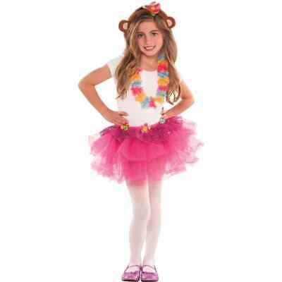 Monkey Love Mod Animal Luau Ears Tutu Lei Birthday Party Favor Dress Up Set • 13.38£
