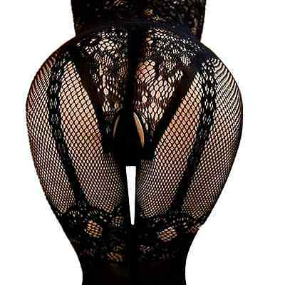 $6.98 • Buy Women Bodysuit Stockings Nightwear Lingerie Jumpsuit Romper Suspender Babydoll