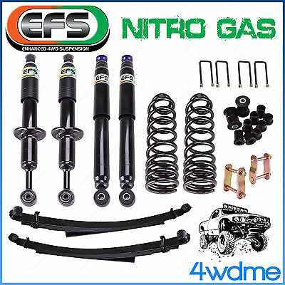 AU1560 • Buy Fits Toyota Hilux KUN26 EFS Shock + Coil Spring + Leaf Spring 2  50mm Lift Kit