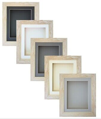 £19.54 • Buy 3D Box Cream Driftwood Picture Photo Baby Craft Object Memorabilia Display Frame