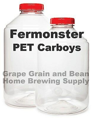 FERMONSTER Wide Mouth Carboy - Your Choice In Size!!! • 28.72£