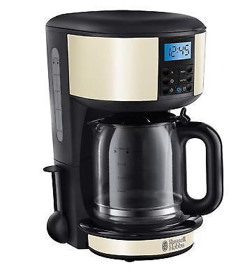 Russell Hobbs Legacy Filter Coffee Machine With Timer 1.25L In Cream - 20683 • 36.99£