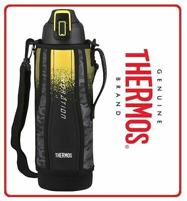 AU67.80 • Buy ❤ THERMOS 1.5L SPORT Insulated Stainless Steel Vacuum BOTTLE Carry Strap + POUCH