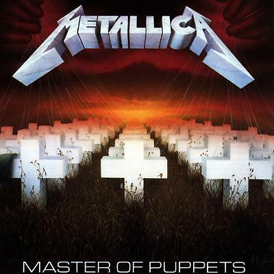 Metallica Master Of Puppets 1986 Album Cover Stretched Canvas Art Poster Print • 18£