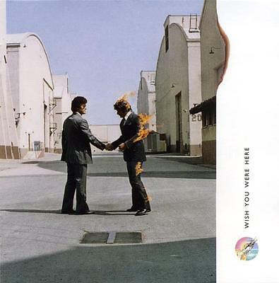 £18 • Buy Pink Floyd Wish You Were Here Album Cover Stretched Canvas Wall Art Poster Print