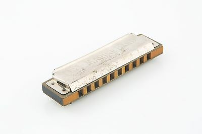 $252 • Buy Vintage M Hohner Marine Band Harmonica (Key Of C) Made In Germany Model A440