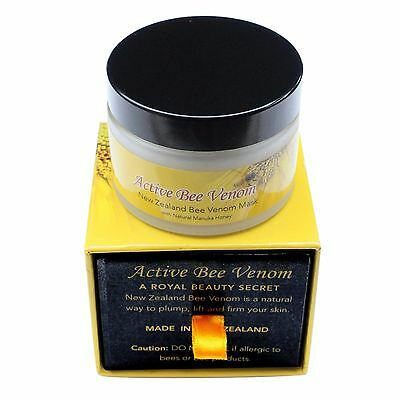 $72.95 • Buy New Zealand Active Bee Venom Moisturizer Hydrating Lifting Firming Cream 50g