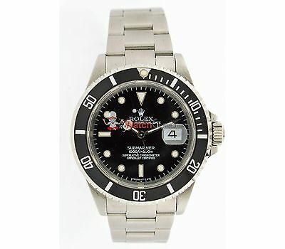 $ CDN10525.01 • Buy Rolex Submariner 16610 40mm Mens Watch With Rotatable Bezel With Index Dial