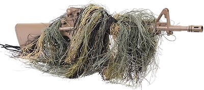 £10.90 • Buy Lightweight Camouflage Sniper Rifle Wrap Airsoft Rifle Rag Cover 95120