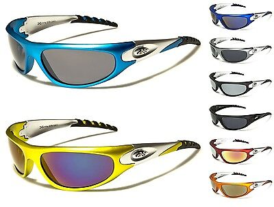 New XLoop Men Women Wraparound Rectangle Sunglasses Sport Cycling Running UV400 • 9.99£
