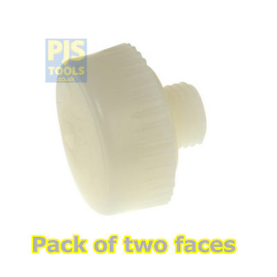 £9 • Buy 2 X Thor 714NF 44mm Spare Replacement Nylon Faces For THO714 Hammer (Pair)
