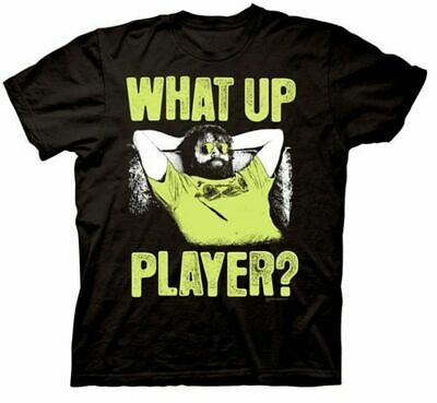 Adult Black Comedy Movie The Hangover Part III Alan What Up Player T-shirt Tee • 16.98£